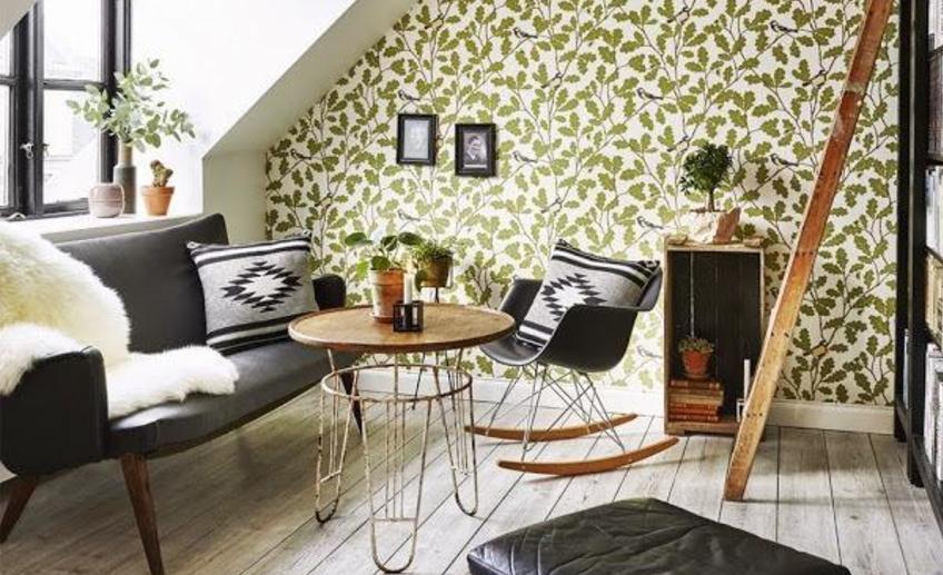 Квартира в Копенгагене с элементами стиля 50-х годов