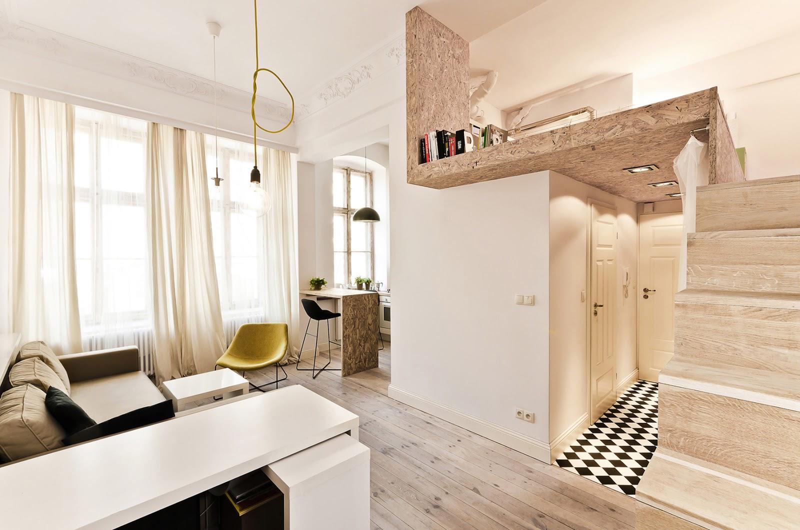 идеи для ремонта маленькой квартиры студии Liod
