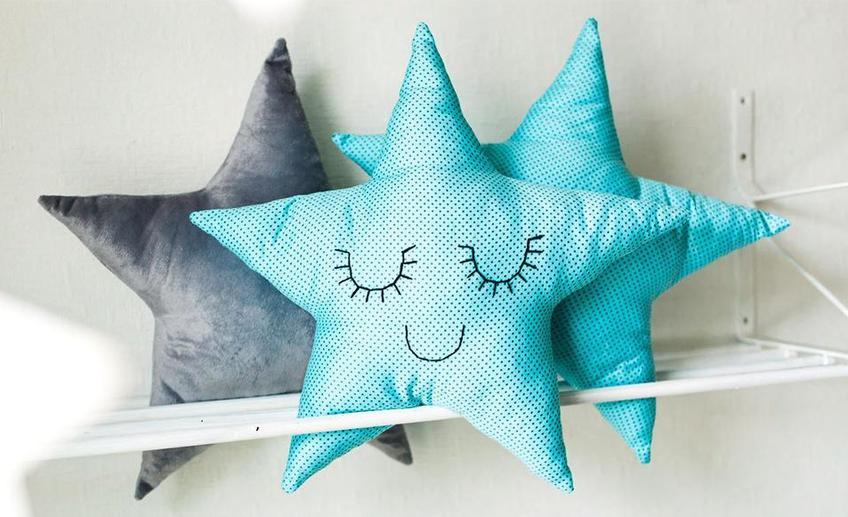 Подушка в форме звезды сшить выкройки