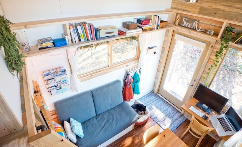 Usual tiny house trailer 29