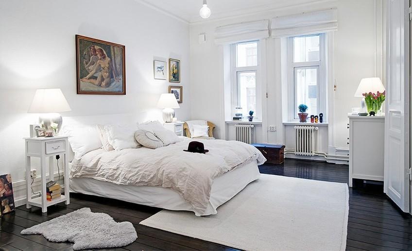 скандинавский стиль в интерьере спальни всё о правильном оформлении