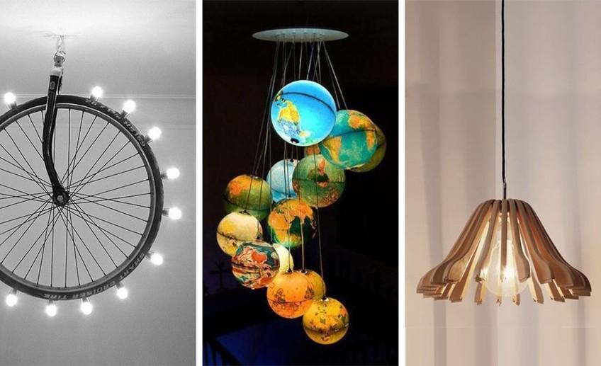 Необычные светильники своими руками фото 307