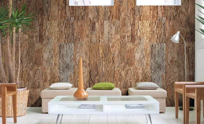 Tiles for cork wall panels
