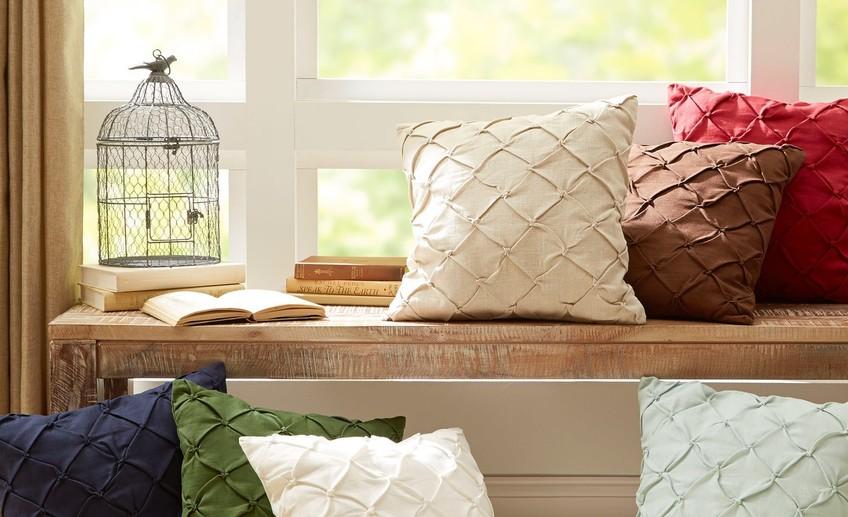 Декоративная подушка для дивана своими руками 78