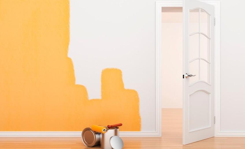 Ремонт и перекраска стен