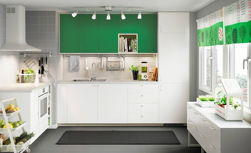 Ikea a fresh green kitchen for fresh green cooking  1364299414367 s4