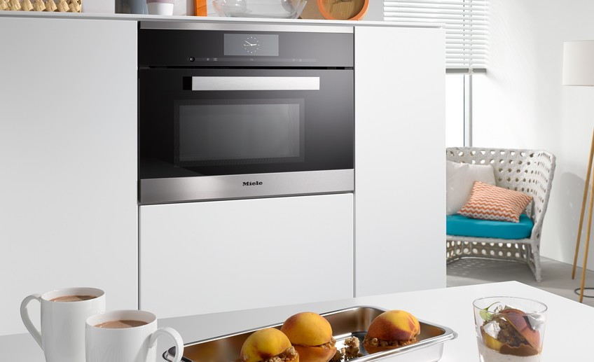 Miele dgm 6800 steam oven with microwave bk sourcebook