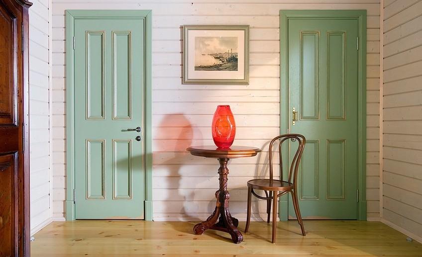 Как покрасить ламинированную дверь особенности и алгоритм