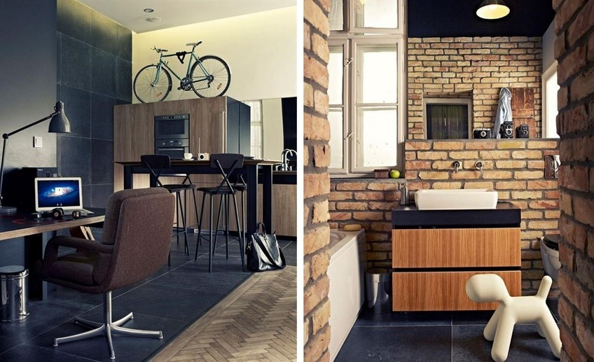 Bachelor pad studio in budapest hungary 1