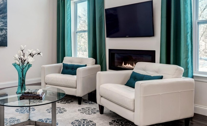 Usual photos hgtv pertaining to turquoise living room decor 2