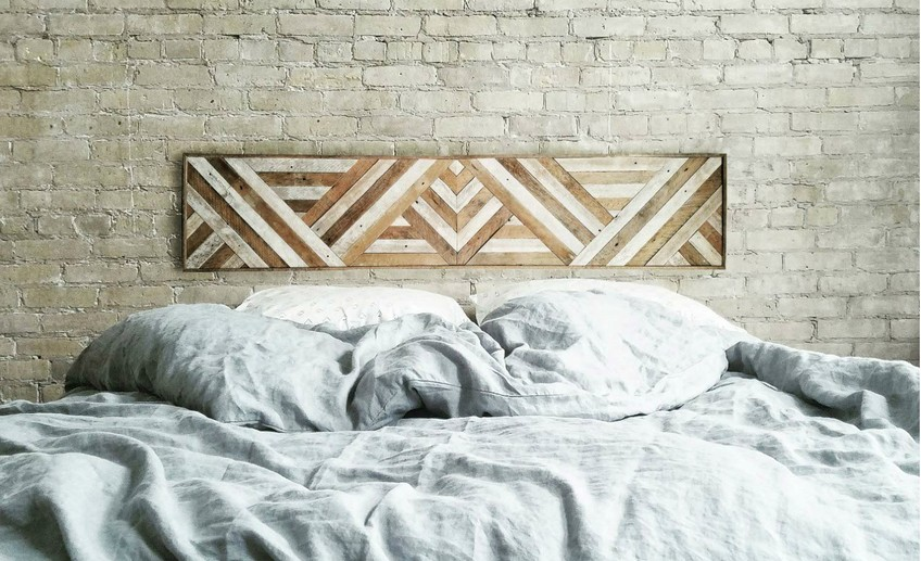 Usual reclaimed wood wall decor 3
