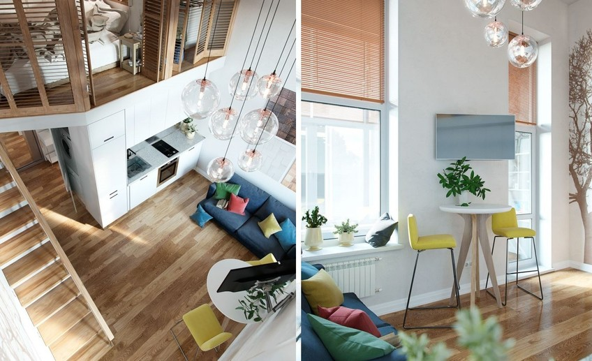 Usual moscow small loft apartment 3 768x853