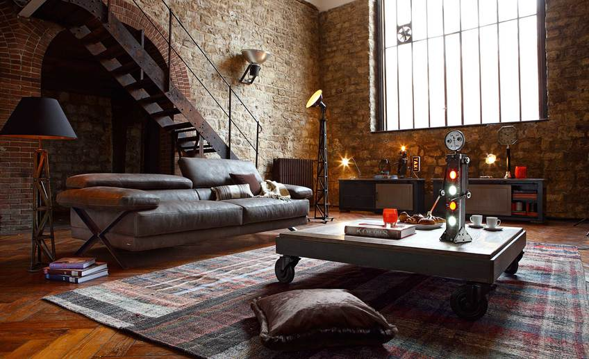 Usual interior design loft nice cream nuance the bauhaus that can decor with wooden floor add beauty inside modern house ieas seems warm lighting natural