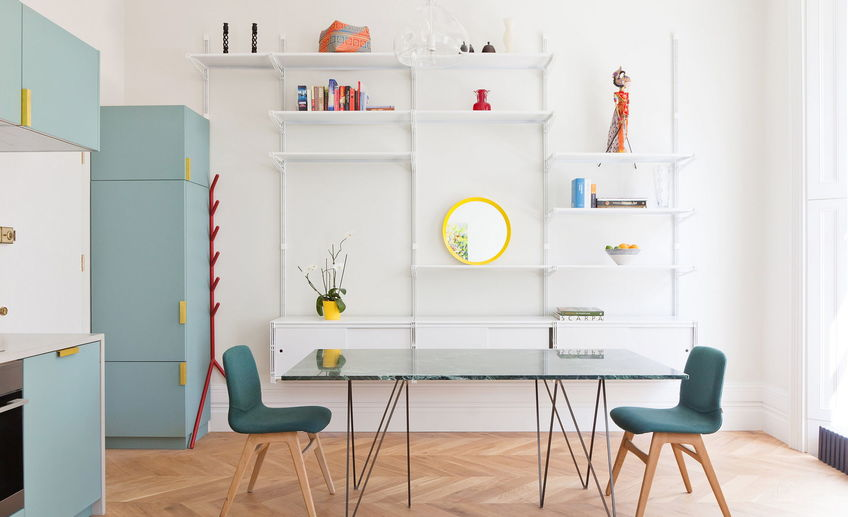 Usual the bright and cheerful apartment interior london 4