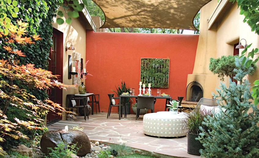 Usual how to make an outdoor canopy decorated by garden border design ideas in addition by outdoor round chaise lounge