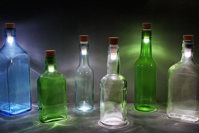 Как сделать лёд в бутылке 19