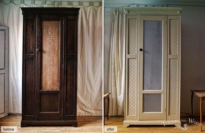 10 способов обновить внешний вид шкафа – DIY и мастер-классы