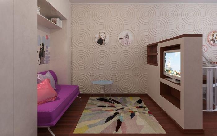 Дизайн комнаты 14 кв м в однокомнатной квартире