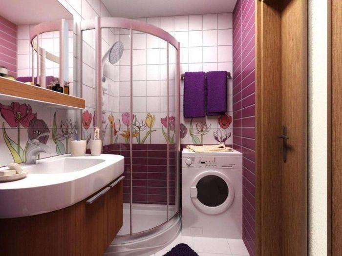 маленькая ванна дизайн фото в квартире