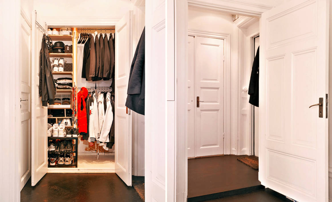 Дизайн гардеробной в маленькой прихожей дизайн.