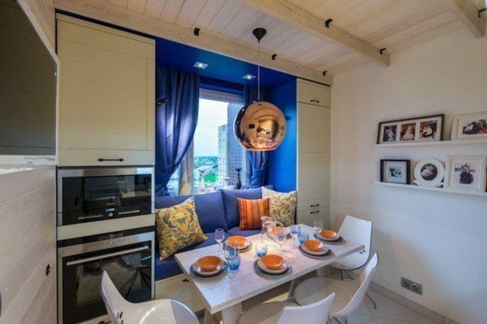 хочу диван на кухне красивые квартиры