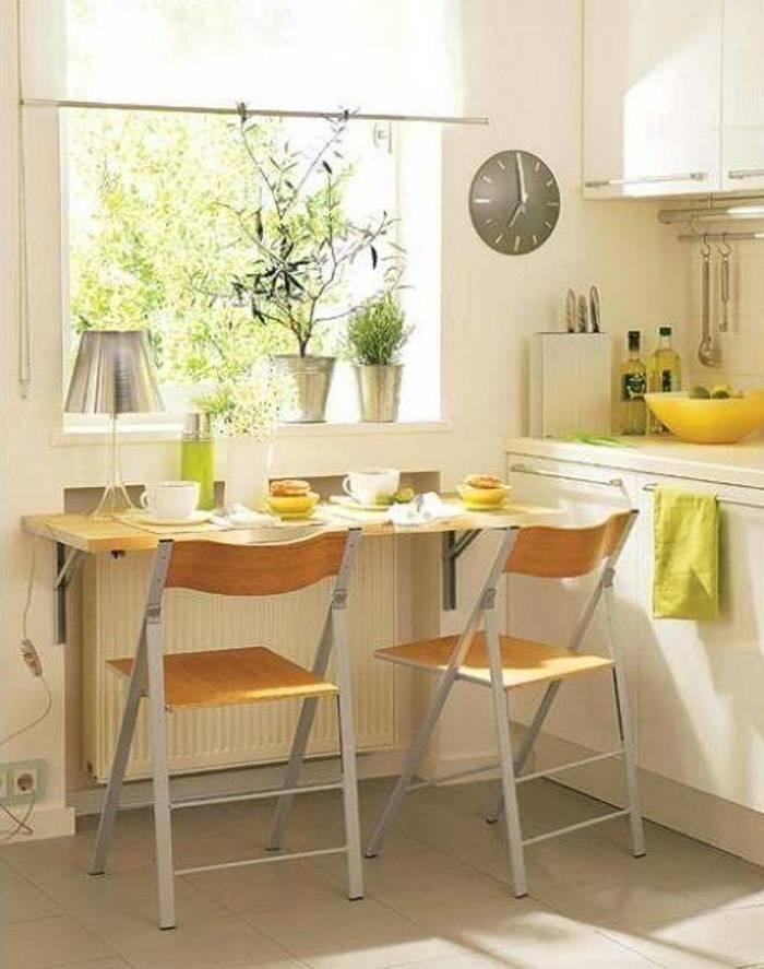 Стол для маленькой кухни 8 идей – Полезные советы