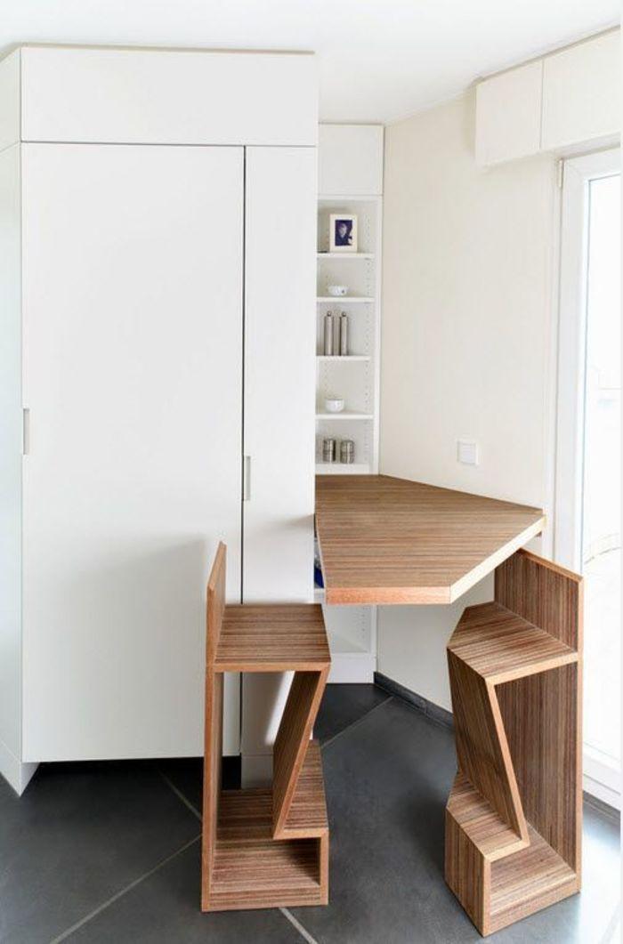 Компактная мебель-трансформер для кухни и спальни 67