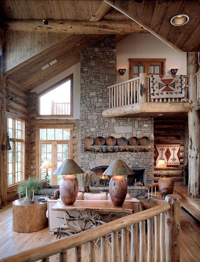 Украшение дома в стиле рустик картинки