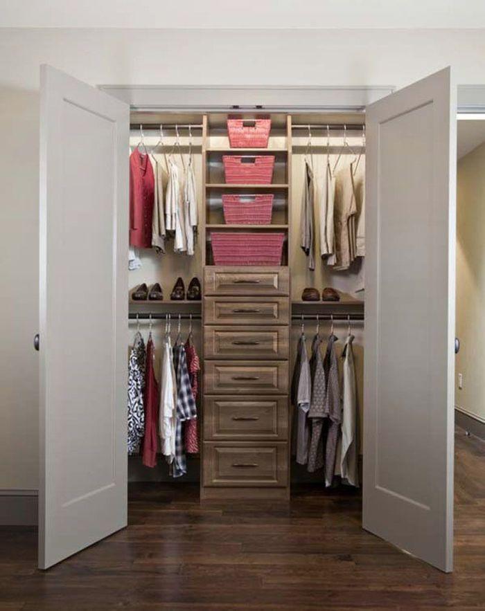Дизайн гардеробной комнаты (25 фото): варианты внутреннего н.