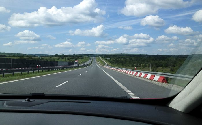 Путешествие на машине в европу
