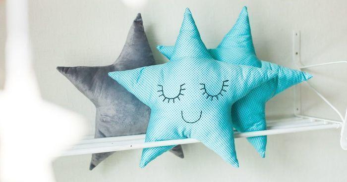Подушка звезда сшить