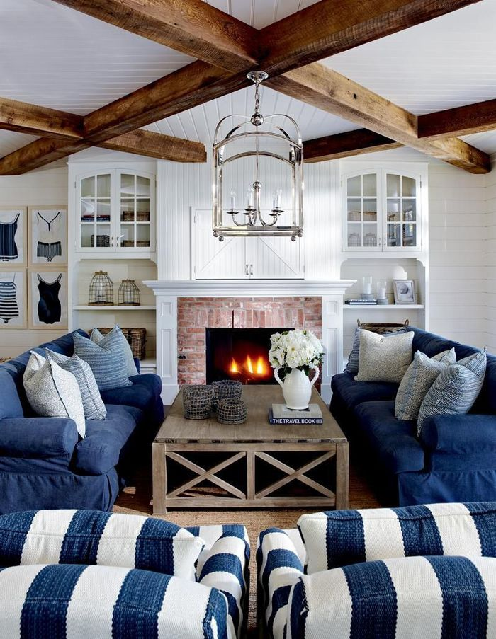 Stunning 70 Cottage Style Living Rooms Design Decoration