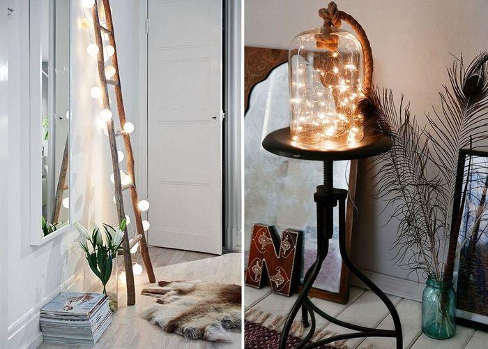светодиодные гирлянды для декора