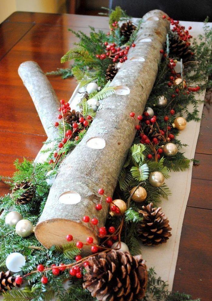 Эко украшения на елку