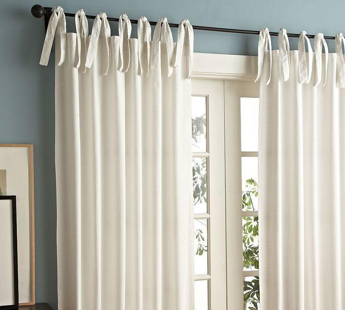 шторы фото с завязками