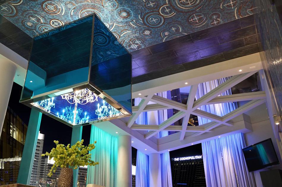 Пентхаус в клубном стиле в центре Лас-Вегаса.