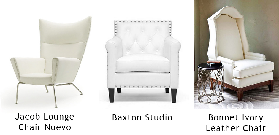 белые кресла фото