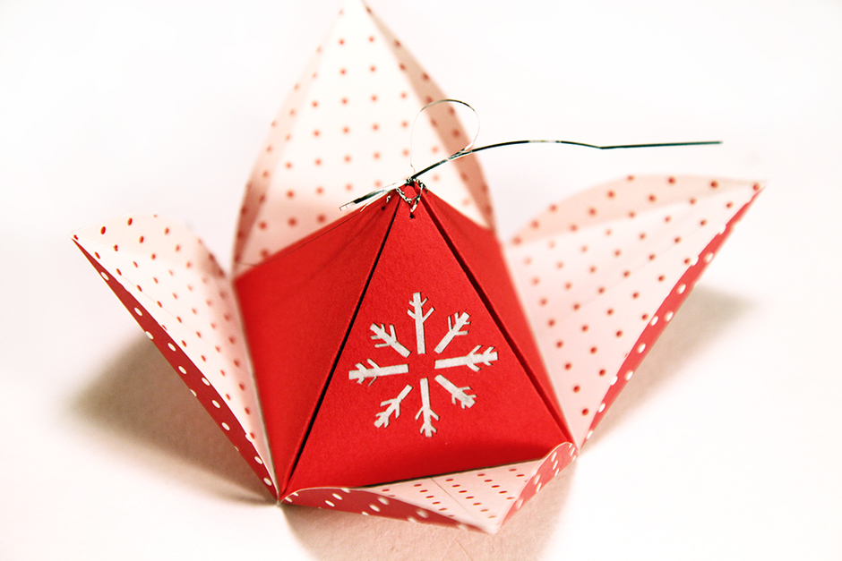 коробочка-пирамидка