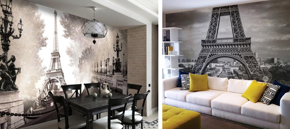 Картинки для интерьера париж