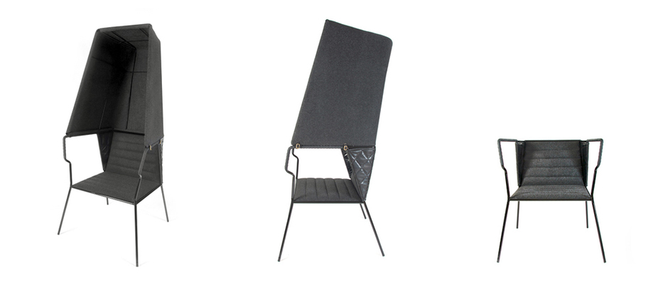 The Booth lounge chair