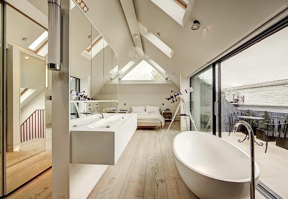 лофт с ванной