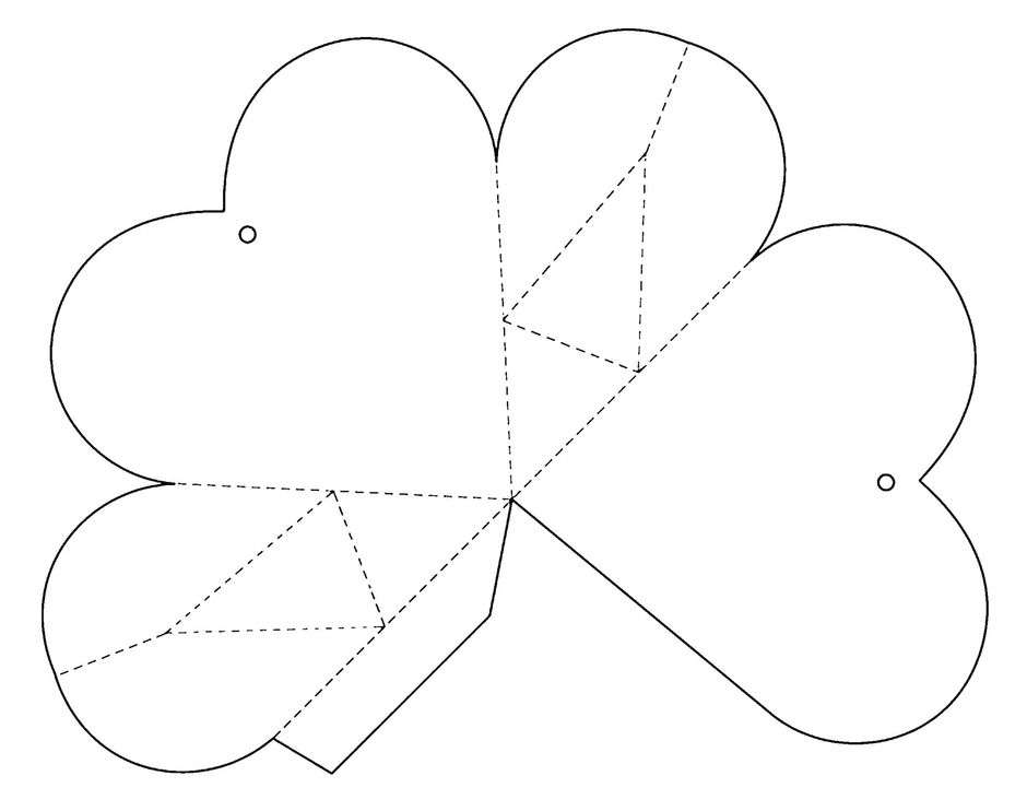 Коробочки из бумаги своими руками в виде сердечка