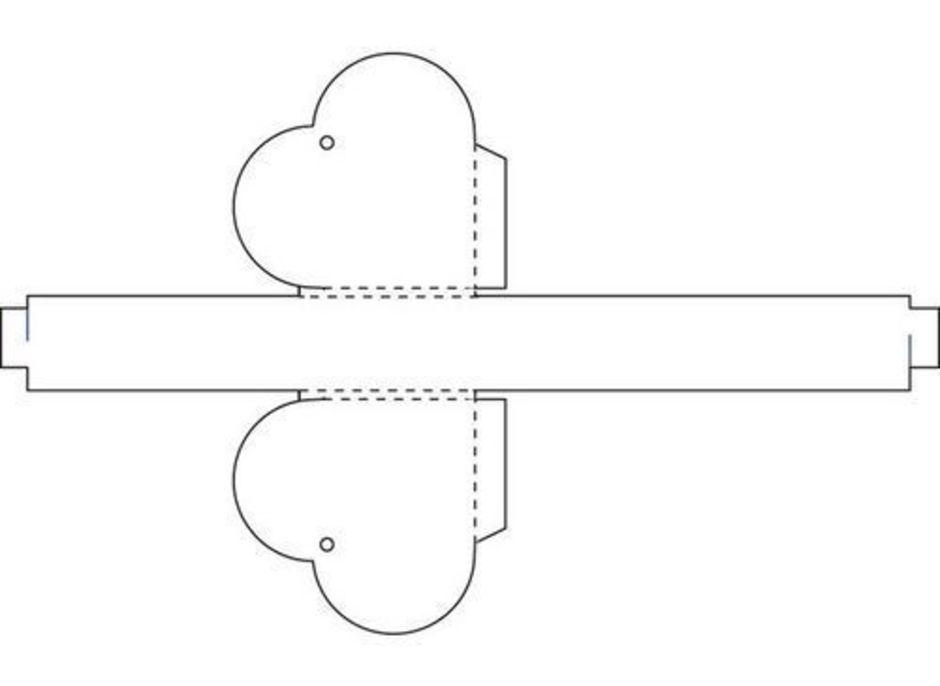 Коробочка схема сердце