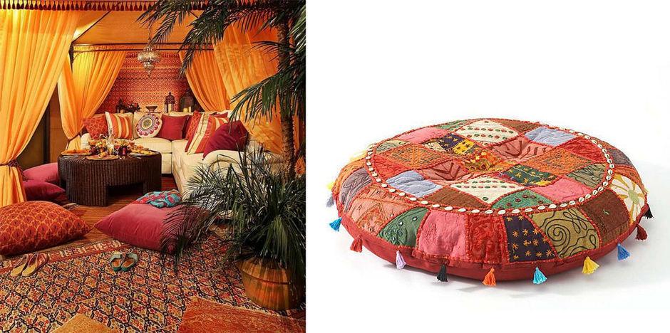 Турецкие подушки своими руками