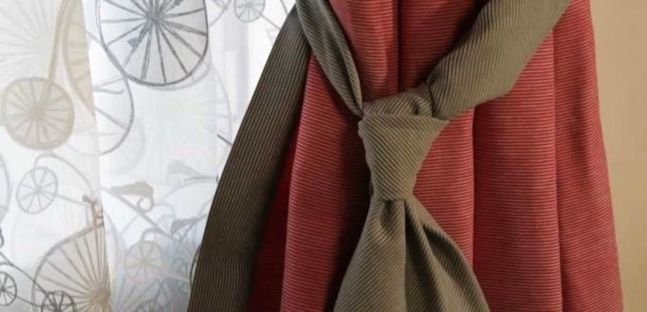 Шторы с галстуками своими руками 101