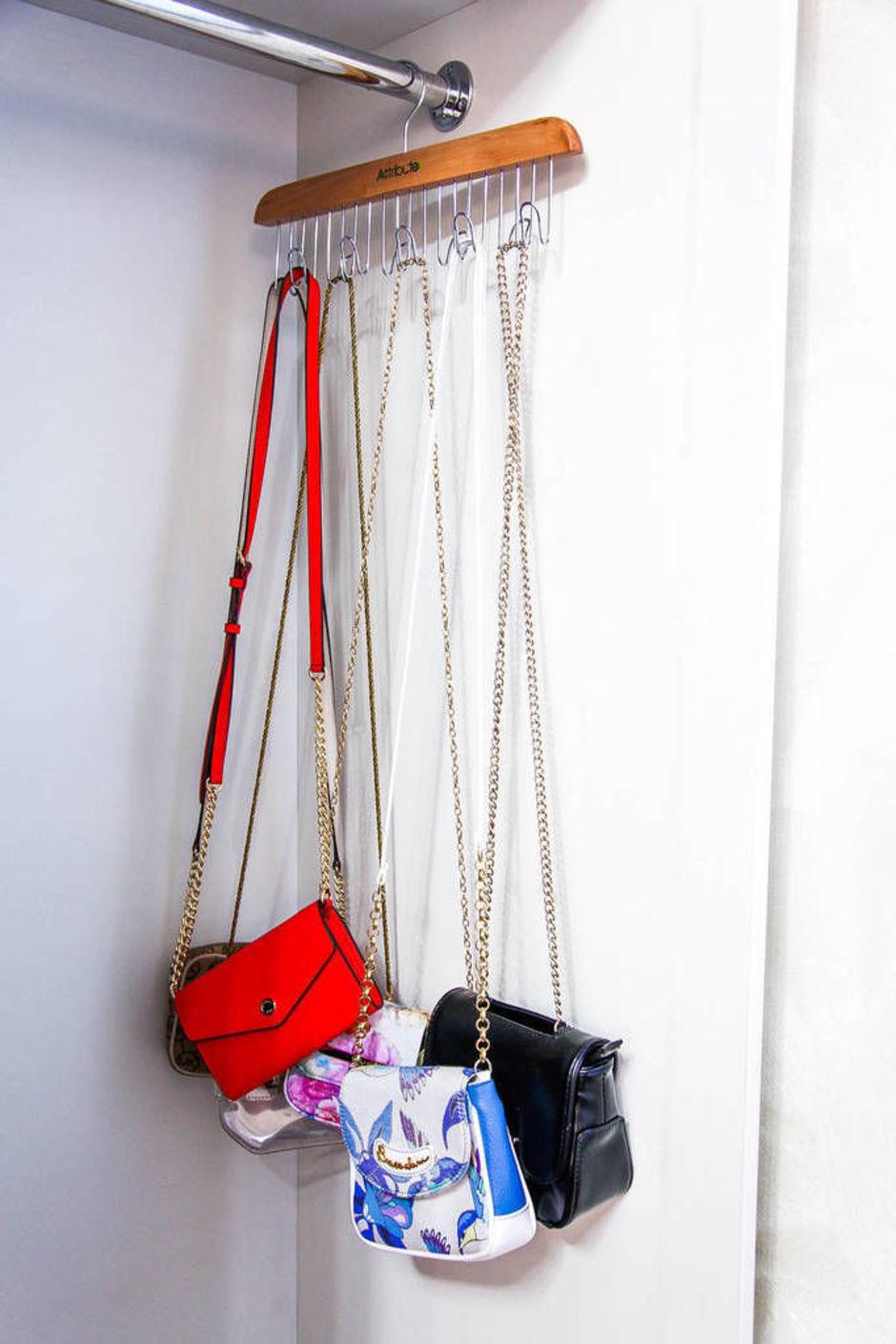 полка для сумок своими руками фото