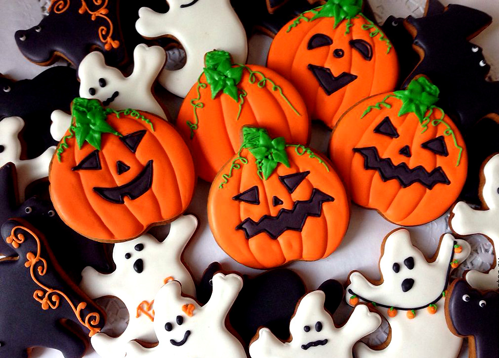 Картинки вкусностей на хэллоуин, картинка