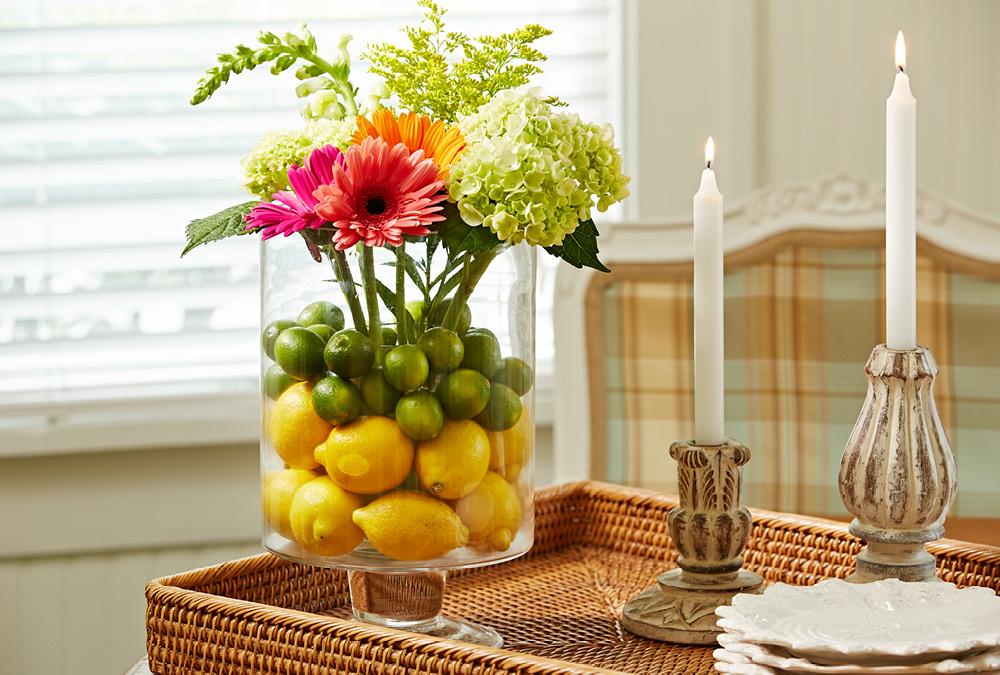 Как сделать композицию для вазы