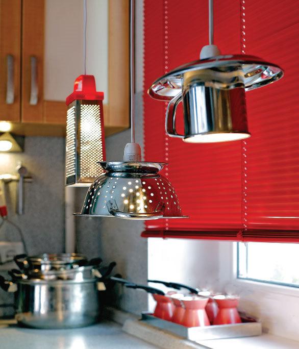Светильник на кухню сделай сама