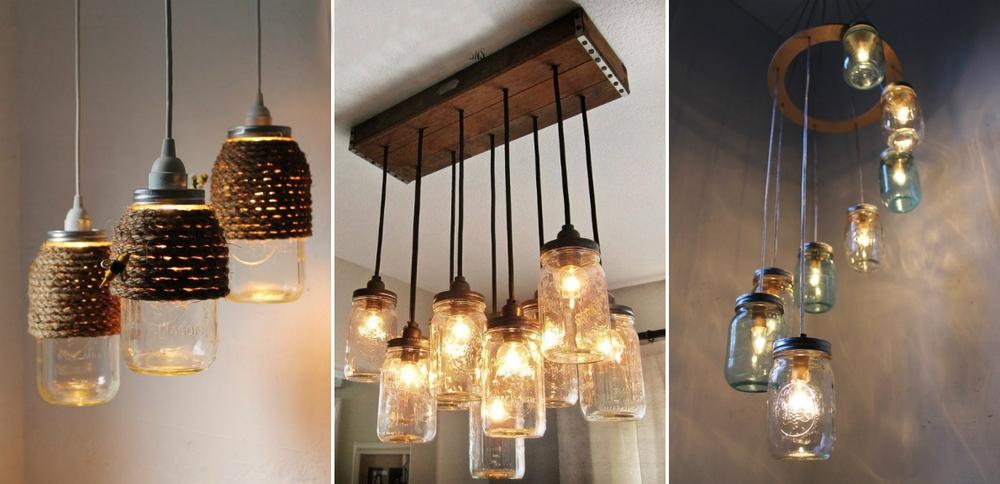 Светильник своими руками декор лампы